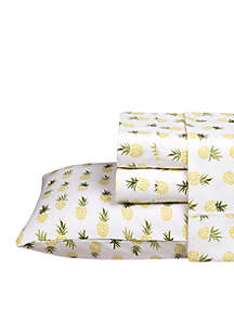 Caribbean Joe Pineapple Printed Sheet Set