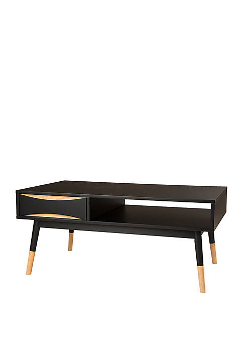 Glitz Home Traditional Espresso X Frame TV Stand