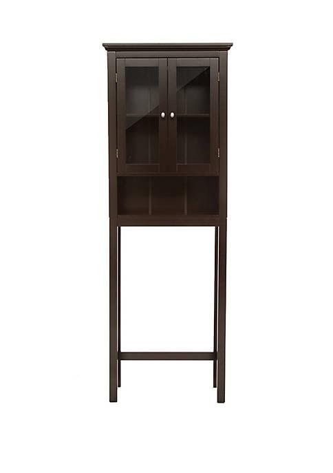Glitz Home Bathroom Wooden Over-The-Toilet Storage Cabinet