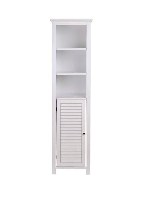 Glitz Home Wooden Floor Storage Cabinet