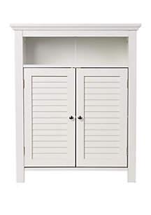 Wooden Floor Storage Cabinet
