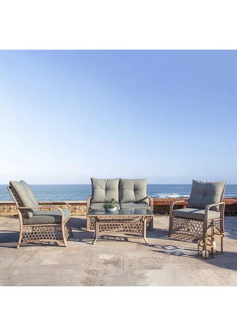 Patio Wicker Chair Set