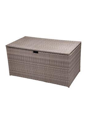 Glitz Home Outdoor Wicker Storage Box
