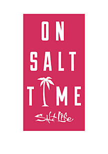 Salt Life On Salt Time Beach Towel