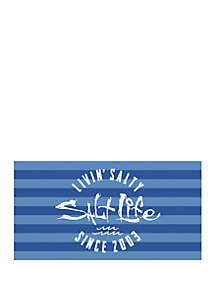 Salt Life Livin Salty Beach Towel