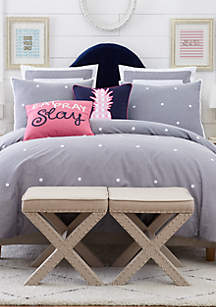 Crown & Ivy™ Dottie Comforter Set