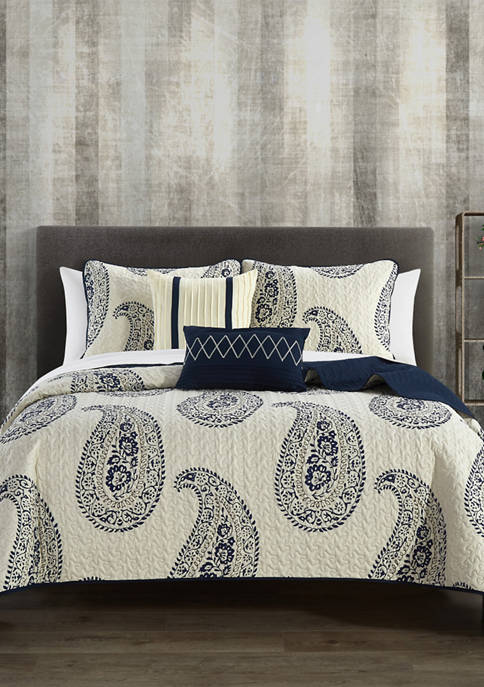 Chic Home Safira Bed In a Bag Quilt