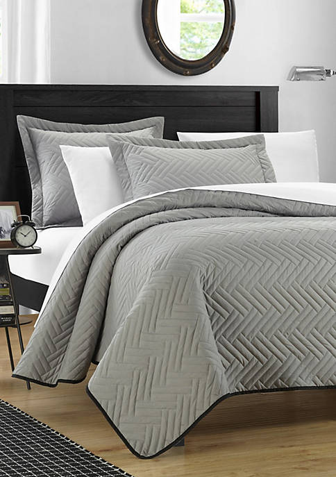 Chic Home Palermo Complete Reversible Comforter Set with