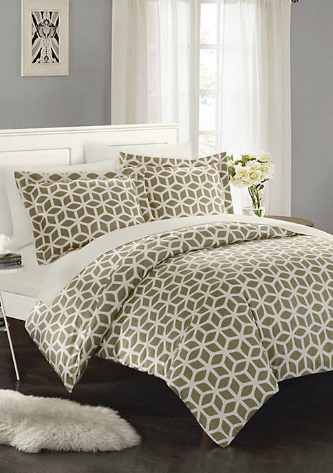 Chic Home Elizabeth Bed In a Bag Duvet
