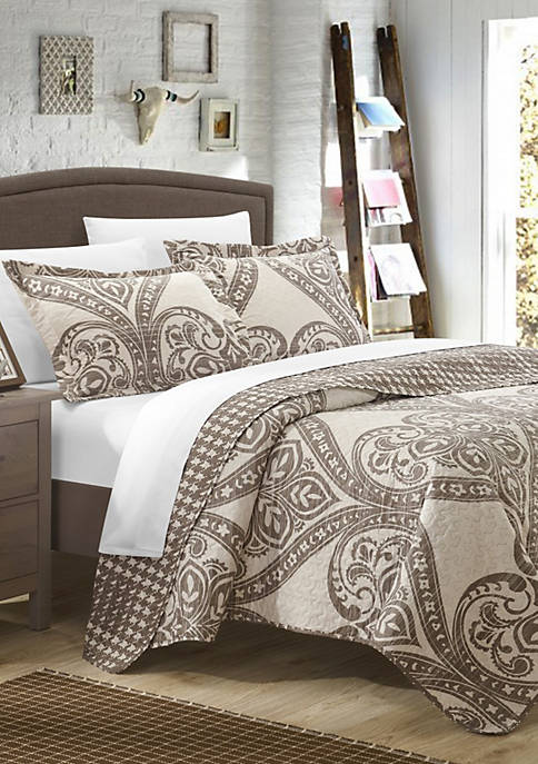 Chic Home Napoli Complete Quilt Set with Sheets