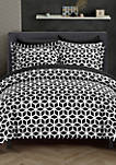Elizabeth Duvet Cover Set- Black