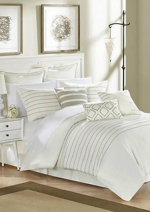 Chic Home Brenton Comforter Set- Beige