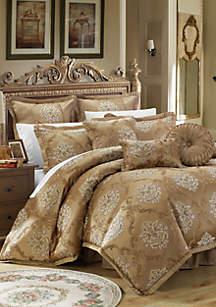 Chic Home Aubrey 9-Piece Complete Bedding Set - Gold