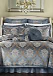 Aubrey 9-Piece Complete Bedding Set - Blue