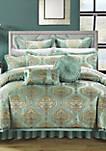 Como 9-Piece Complete Bedding Set - Blue
