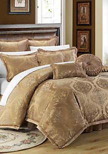 Chic Home Como 9-Piece Complete Bedding Set - Gold