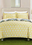Ibiza Bed In a Bag Duvet Set - Yellow