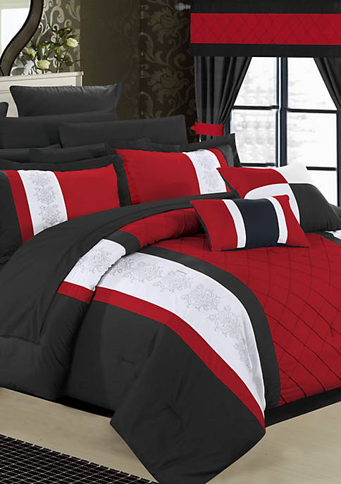 Chic Home Danielle 24-Piece Complete Bedding Set with
