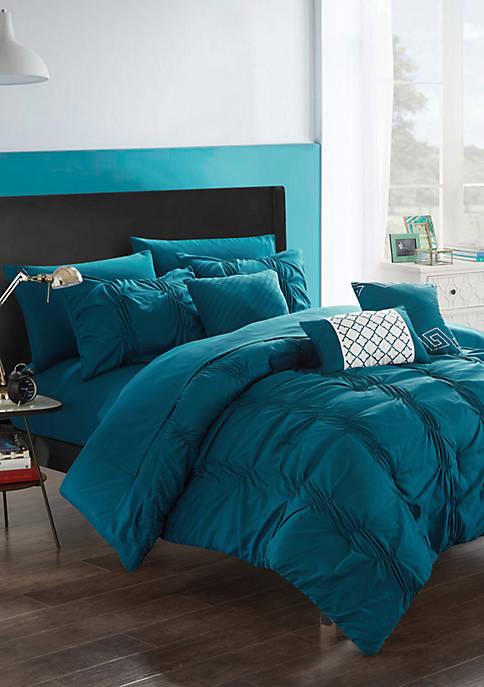 Tori Comforter Set - Navy