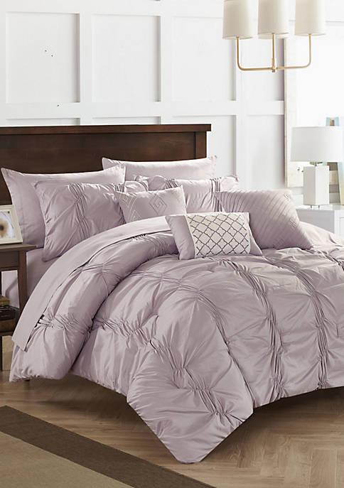 Tori Bed In a Bag Comforter Set - Lavender