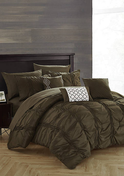Chic Home Tori Complete Comforter Set with Sheets