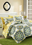 Barcelona Complete Comforter Set with Sheets - Yellow