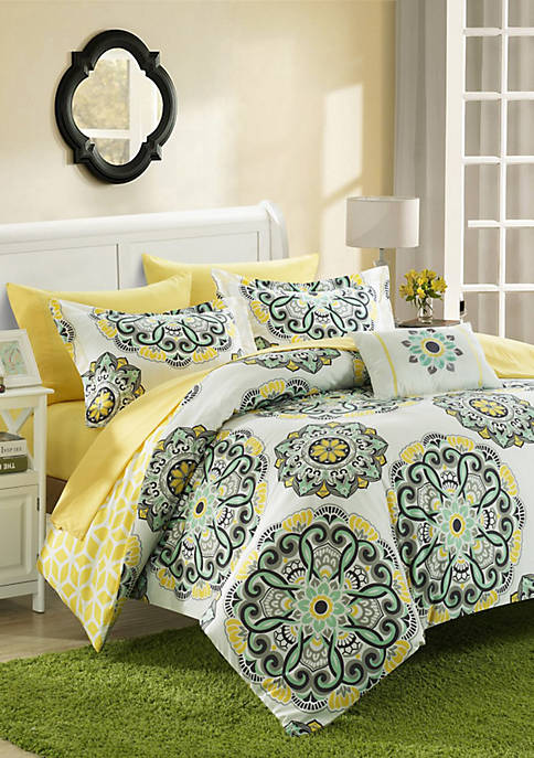 Chic Home Barcelona Complete Comforter Set with Sheets
