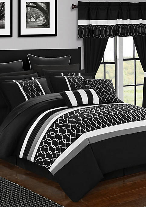 Chic Home Dinah 24-Piece Complete Bedding Set with