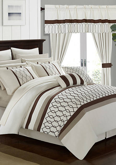 Chic Home Dinah Complete Bedding Set with Sheets