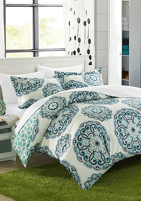 Chic Home Reversible Ibiza Complete Bedding Set