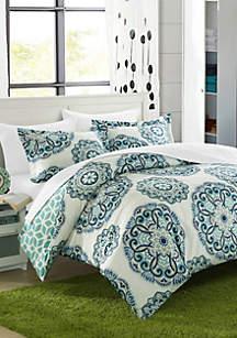 Reversible Ibiza Complete Bedding Set