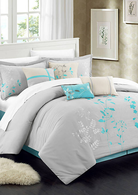 Chic Home Bliss Garden Complete Bedding Set with