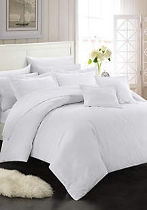 Khaya Complete Bedding Set with Sheets - White