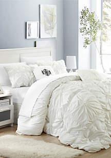 Halpert Comforter Set - White