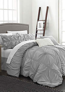 Halpert Comforter Set - Gray