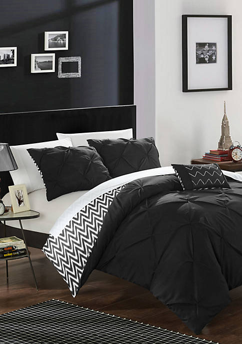 Chic Home Jacky 8-Piece Comforter Set