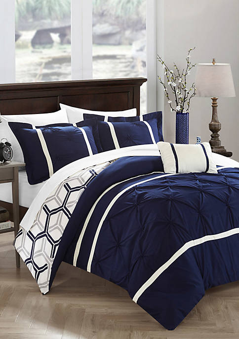Chic Home Marcia Comforter Set