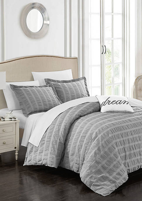Chic Home 4-Piece Millbury Duvet Cover Set