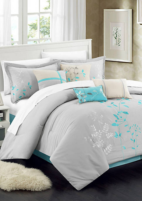 Chic Home Bliss Garden 8-Piece Comforter Set