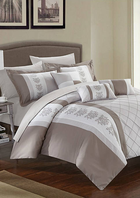 Chic Home Clayton Bed In a Bag Comforter