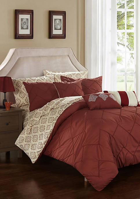 Chic Home Maddie Bed In a Bag Comforter