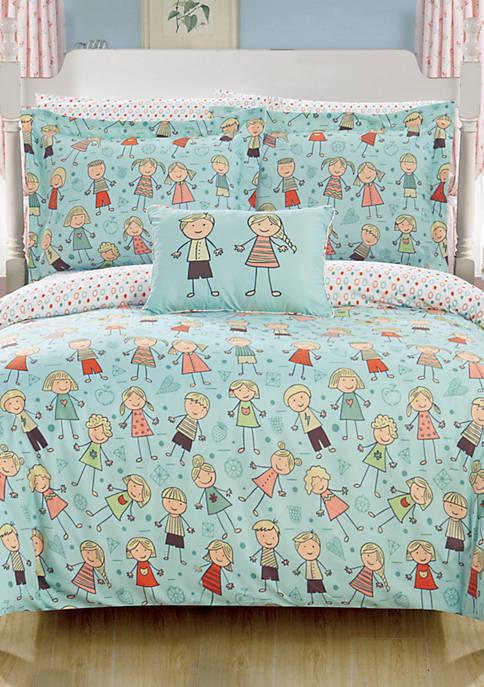 Woodland Bed In a Bag Comforter Set