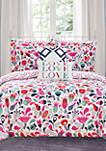 Tulip Garden Bed In a Bag Comforter Set