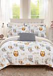 Owl Forest Bed In a Bag Comforter Set
