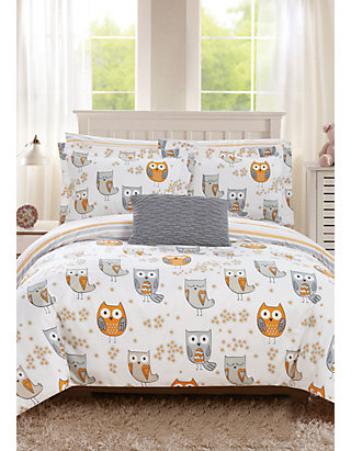 Chic Home Owl Forest Bed In A Bag Comforter Set