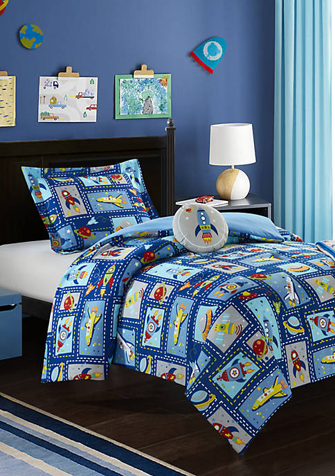 Chic Home Spaceship Comforter Set