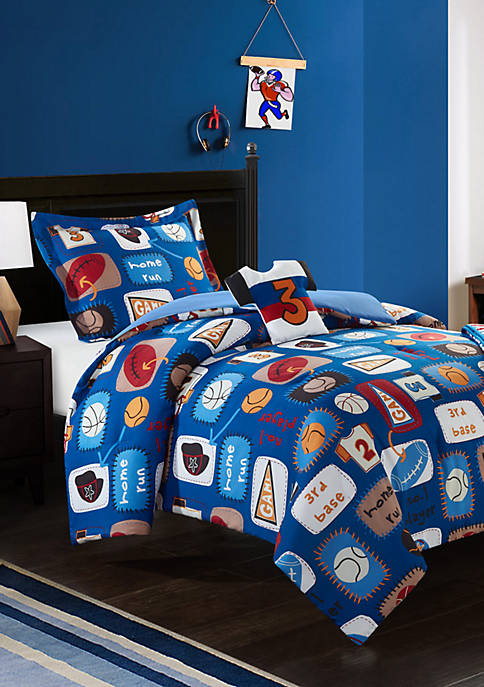 Chic Home Sport Camp Comforter Set