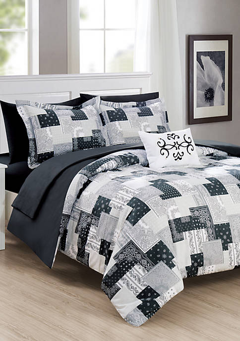 Chic Home Millennia Bed In a Bag Comforter
