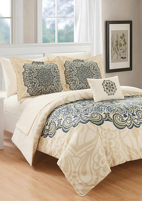 Chic Home Palmer Bed In a Bag Comforter