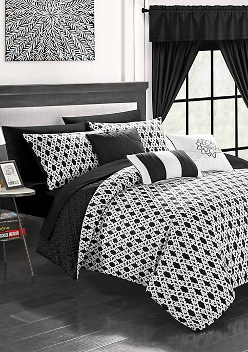 Chic Home Sigal Bed In a Bag Comforter